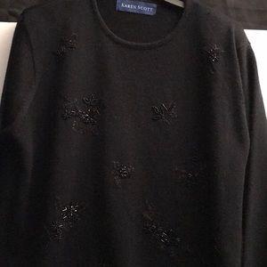 Kieran Scott black sweater